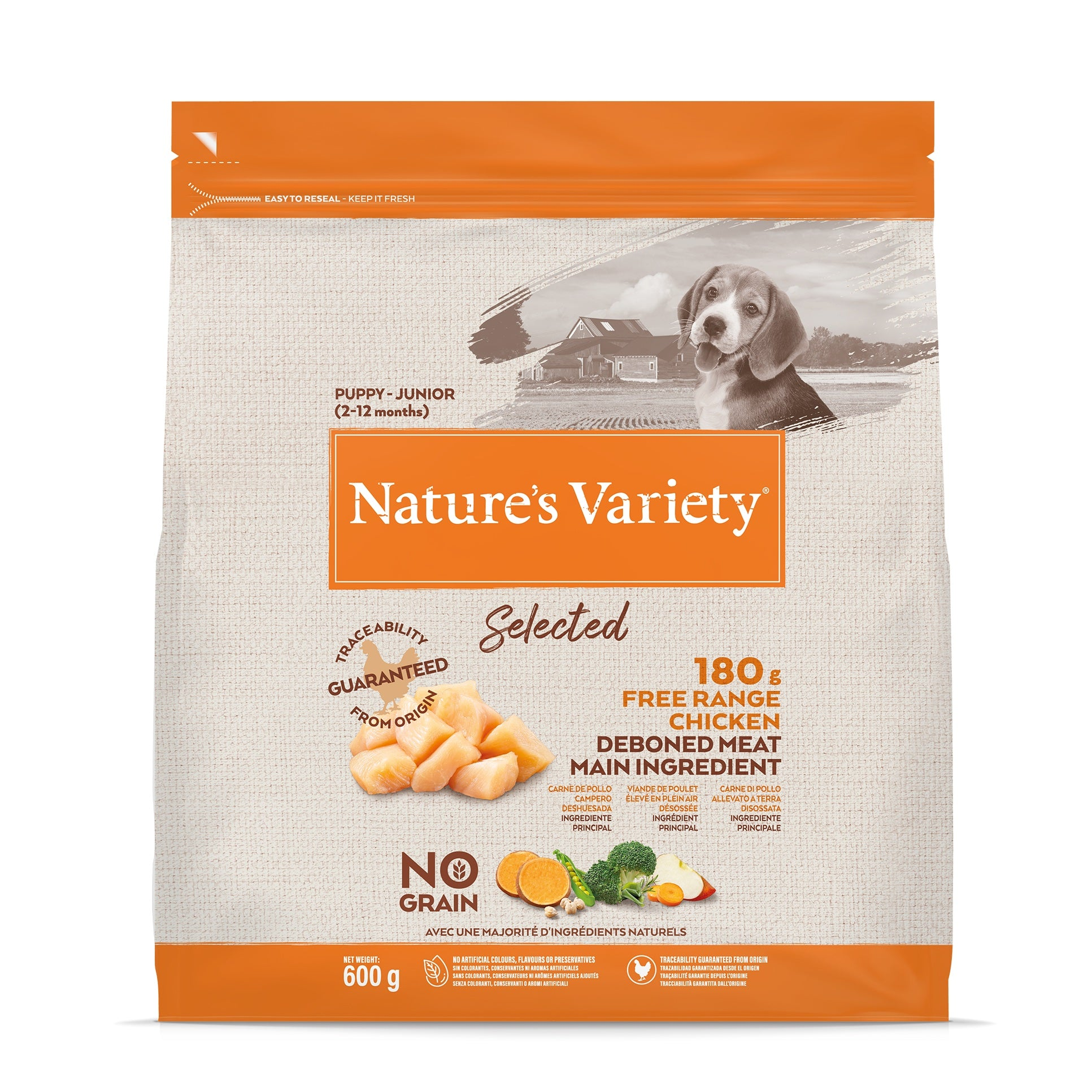 Natures Variety Selected Chicken Puppy/Junior