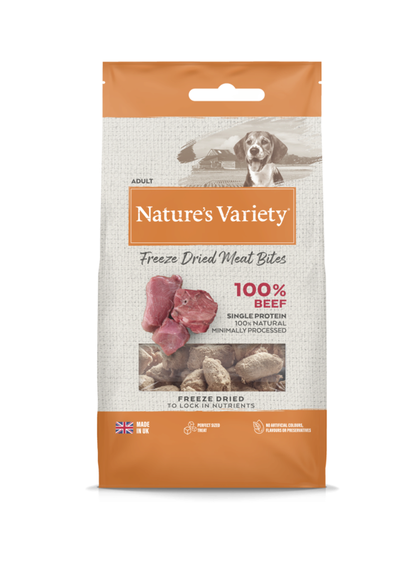 Natures Variety Beef Bites 20g