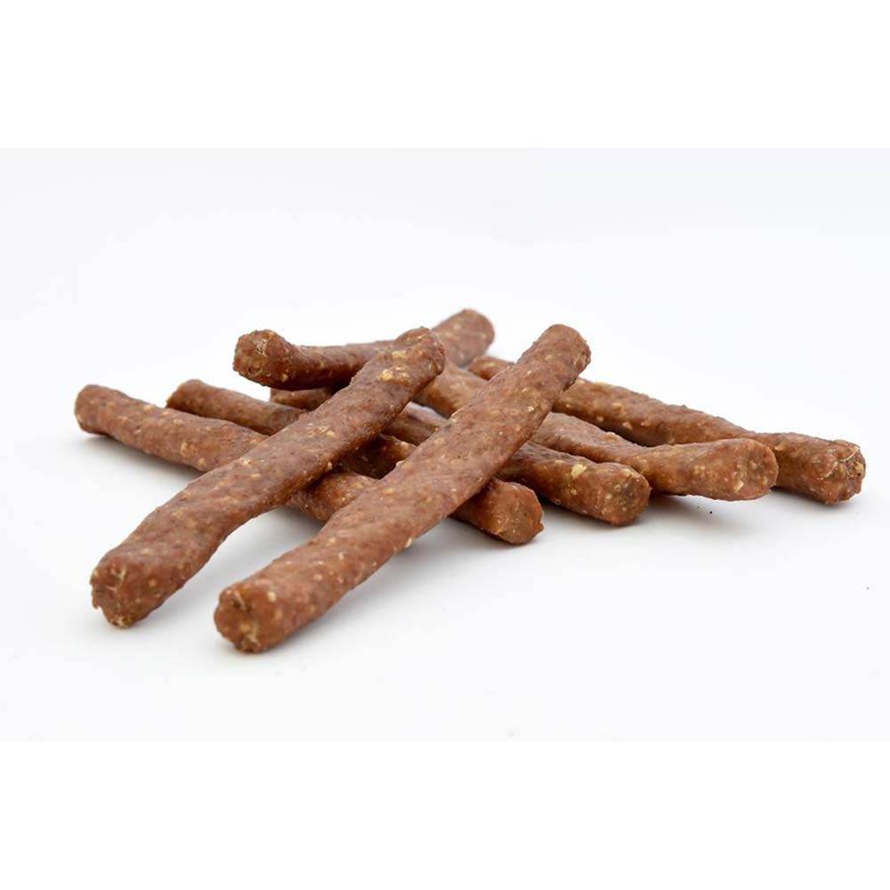 Fresco Beef Chew Sticks with Pizzle Meat, Bacon and Cheese 12cm