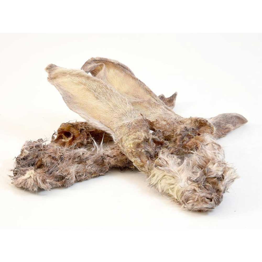 Fresco Rabbit Ears with Fur 500g