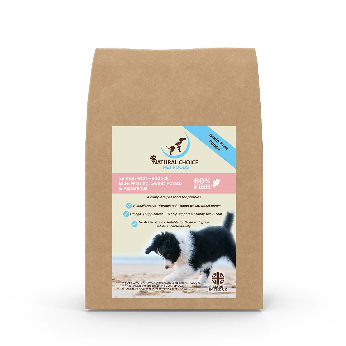 Natural Choice Puppy Food Salmon, Haddock and Blue Whiting