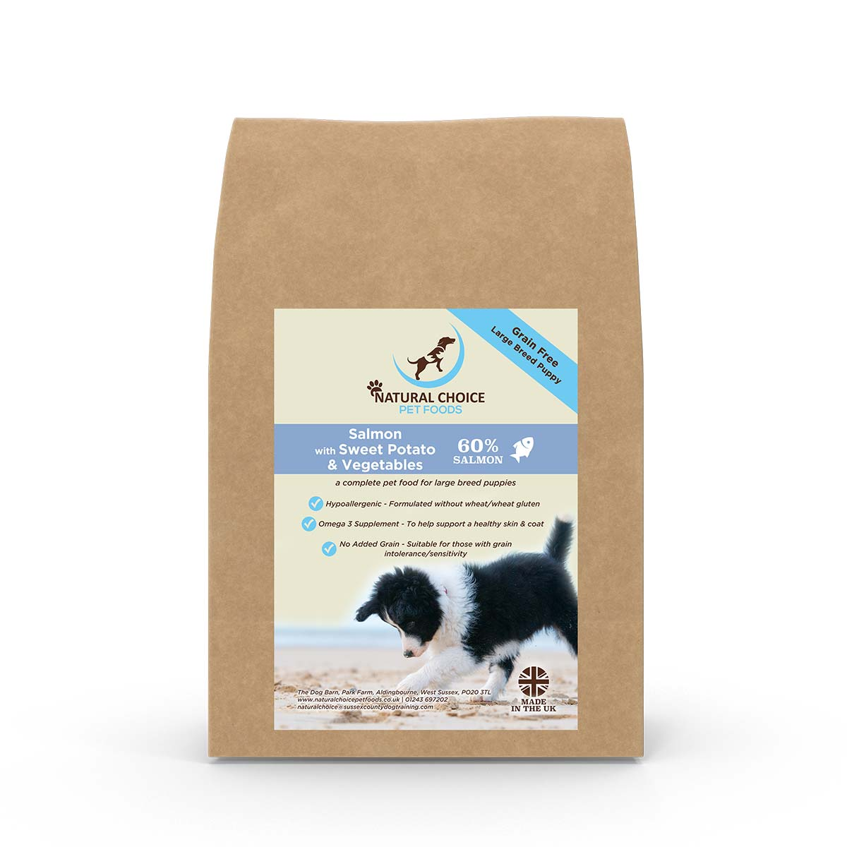 Natural Choice Large Breed Puppy Food Salmon and Sweet Potato