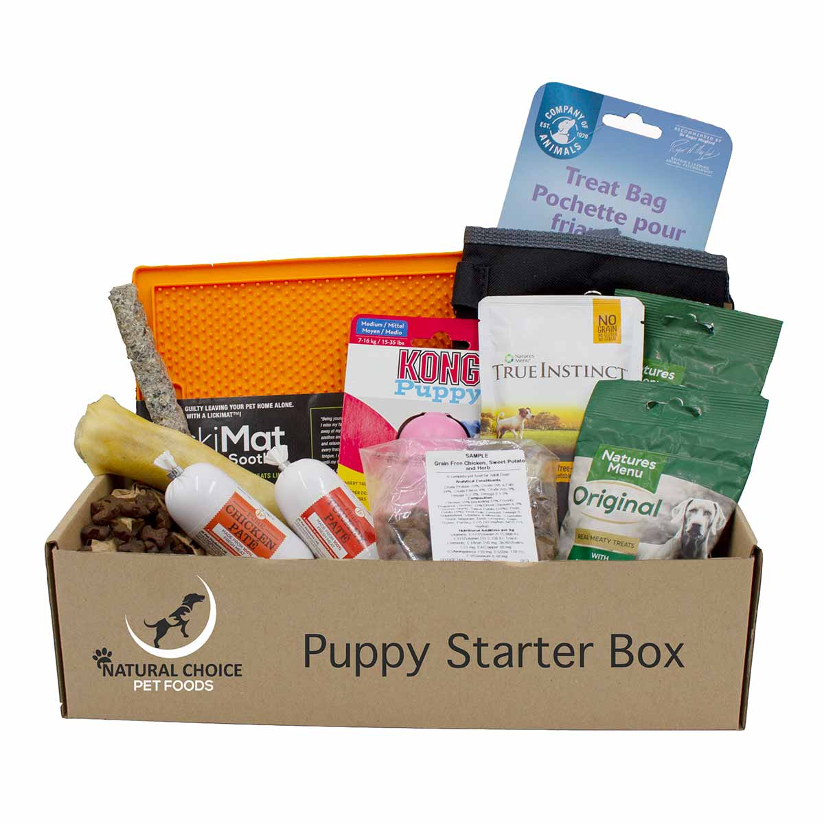 Natural Choice Puppy Treat Starter Box