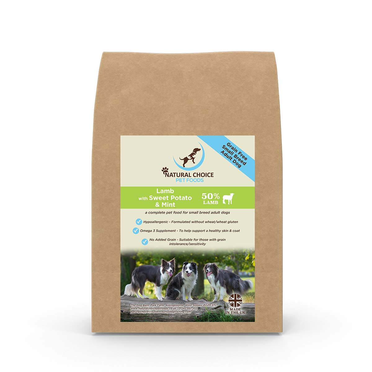 Natural Choice Small Breed Adult Dry Dog Food Lamb and Sweet Potato