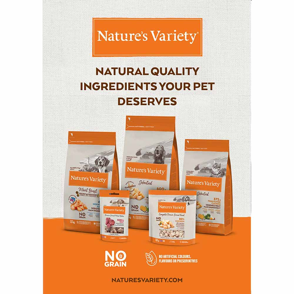 True Instinct/Natures Variety Freeze-Dried Lamb Meat Bites Dog Treats 20g