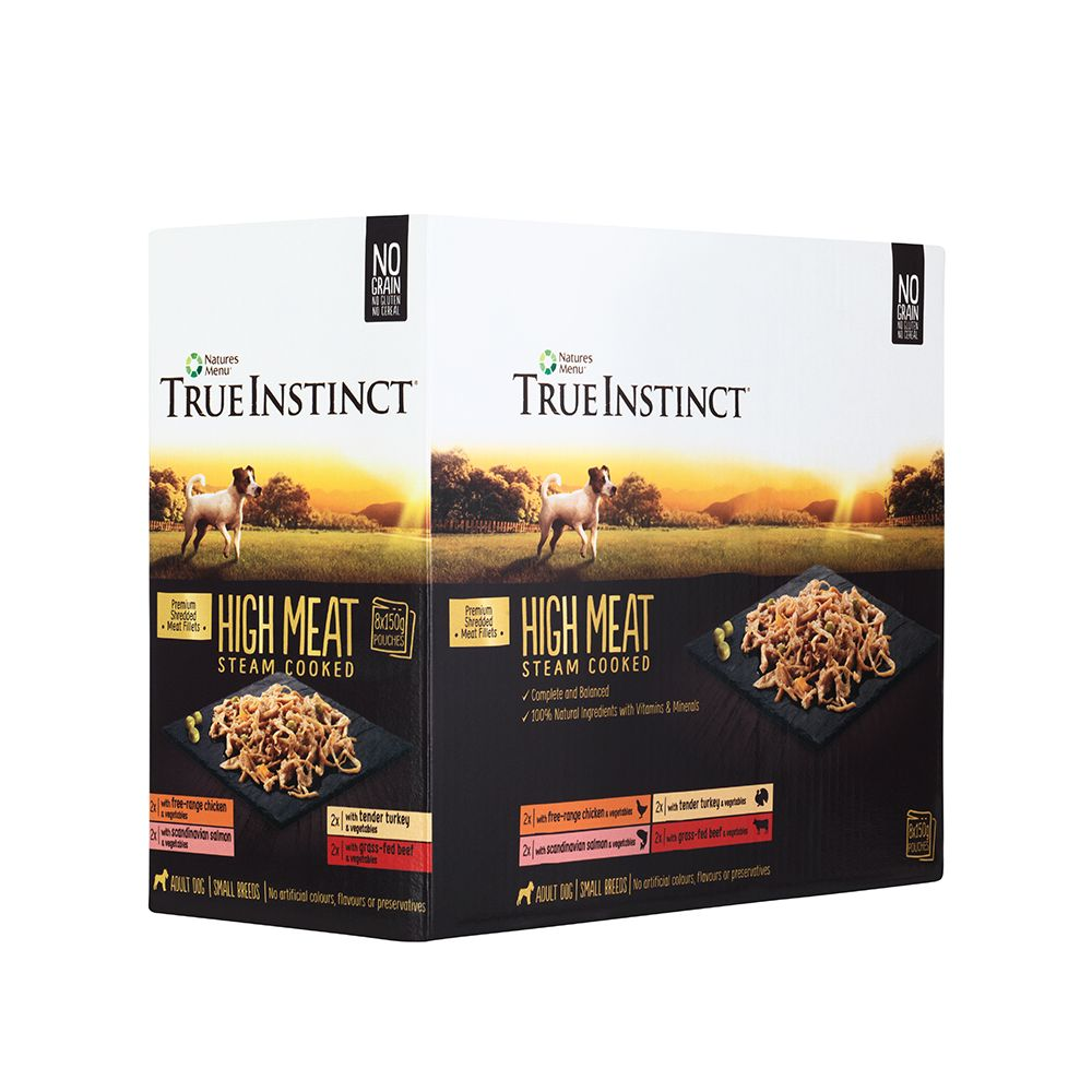 True Instinct/Natures Variety Meat Fillers Multipack 8 x 150g