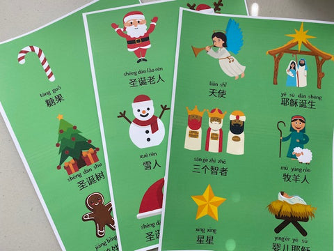 Christmas in Chinese