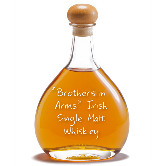 Brothers in Arms Irish Single Malt Whiskey, 14 years