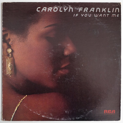 Carolyn Franklin, If You Want Me