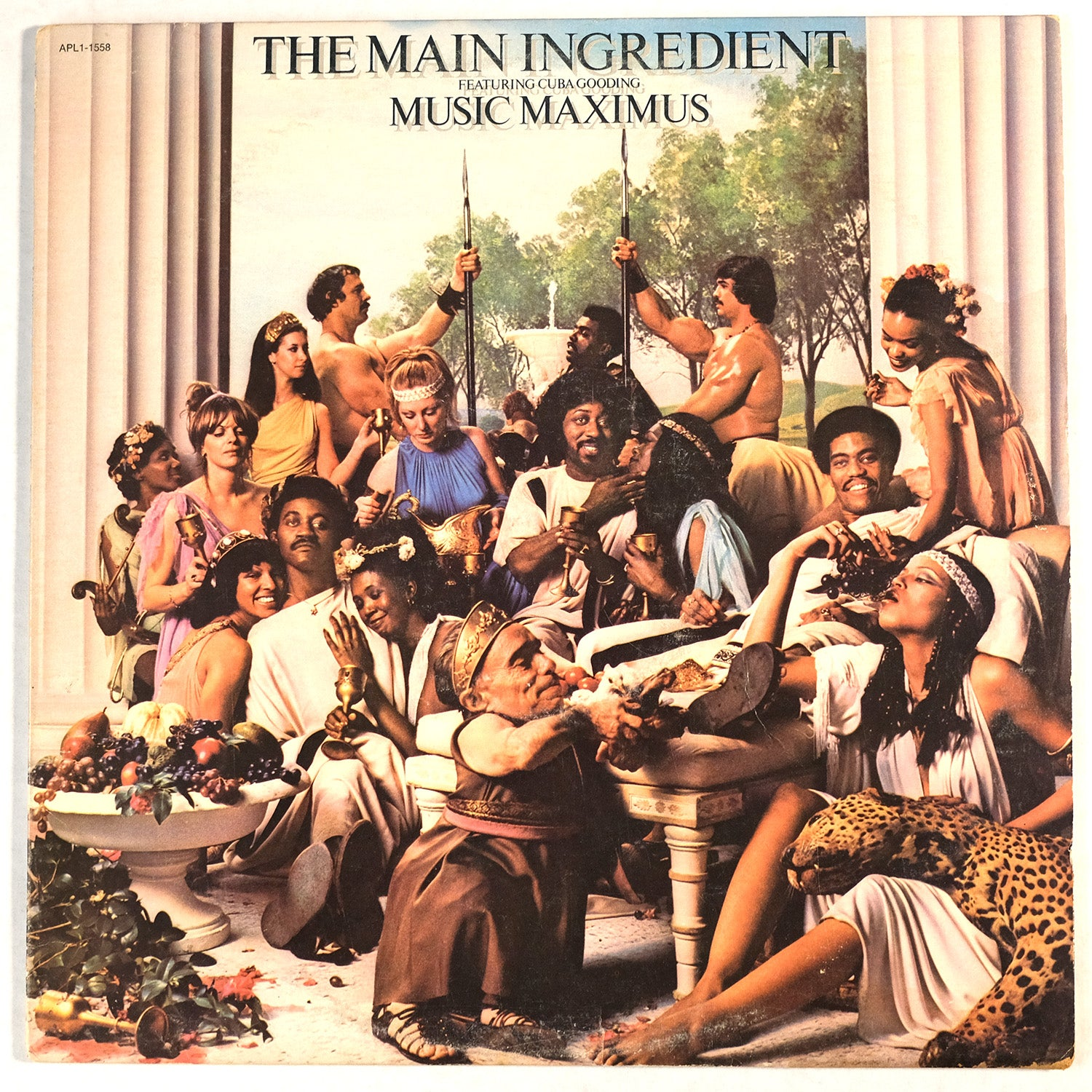 The Main Ingredient Feat Cuba Gooding, Music Maximus