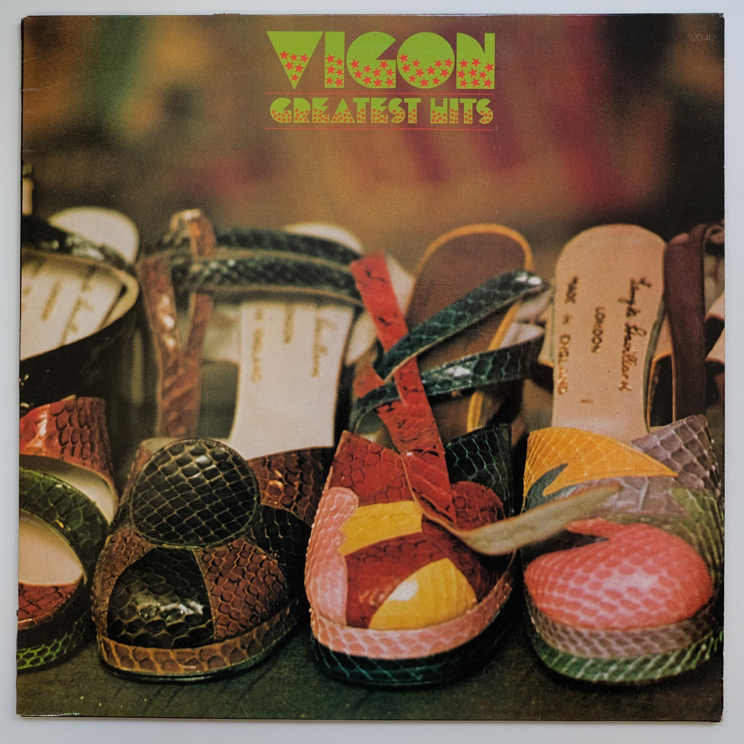 Vigon, Greatest Hits