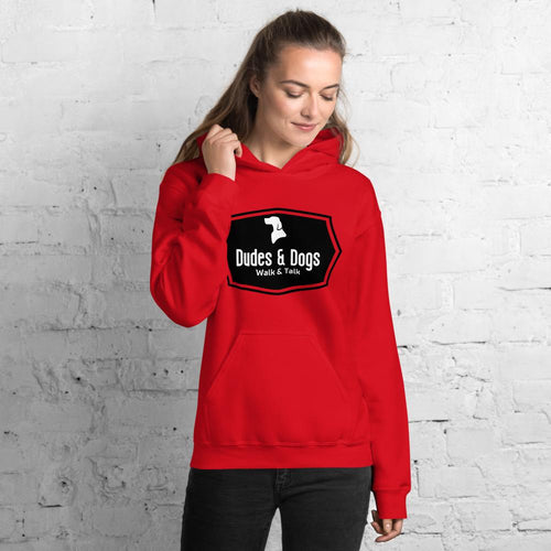 Womens Hoodie - Dudes & Dogs C.I.C.