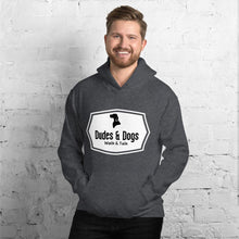 Load image into Gallery viewer, Mens Autumn Hoodie - Dudes & Dogs C.I.C.
