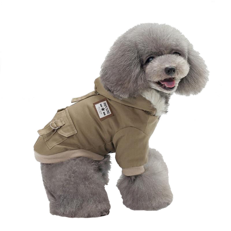 MALAMUTE AviatorCoat™ | Military-Styled Dog CoatDog Cloth - Malamute Pet Shop