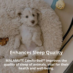 [Last Day Promotion, 50% Off] MALAMUTE ComfortBed™ | Therapeutic Dog Calming BedDog Bed - Malamute Pet Shop