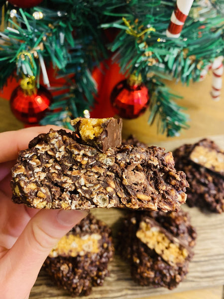 No-Bake NuGo Protein Peanut Butter Cookies