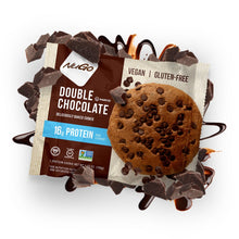 Load image into Gallery viewer, NuGo Protein Cookie Double Chocolate