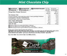 Load image into Gallery viewer, Nugo Dark Mint Chocolate Nutrition Facts