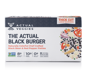 12 Pack - The Actual Black Burger