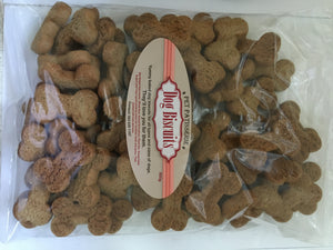 Pet Patisserie dog biscuits - Small bone shape - 500g