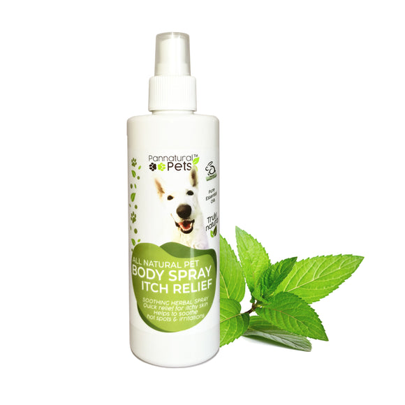 Pannatural Pets Itch Relief Body Spray 250ml