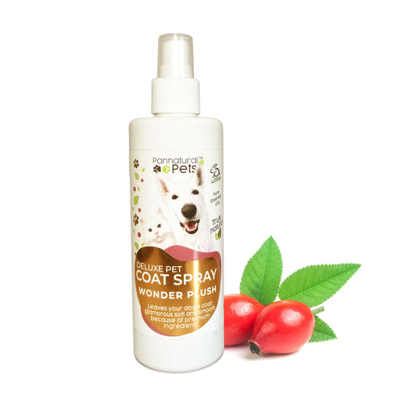 Pannatural Pets Deluxe Body Spray – Wonder Plush & Soft 250ml