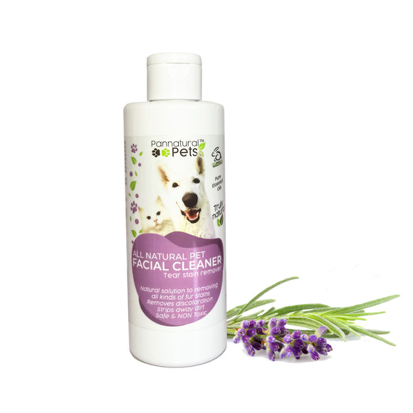 Pannatural Pets Facial Cleanser – Fur Stain Remover 250ml
