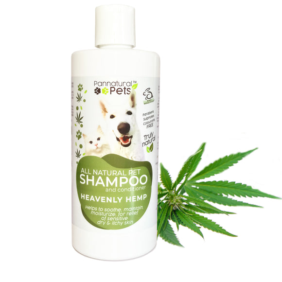 Pannatural Pets Shampoo – Heavenly Hemp 495ml