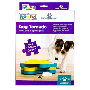 Nina Ottosson Dog Puzzle Tornado Blue