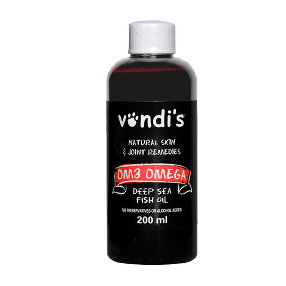 Vondi'S Om3 Omega Fish Oil 200Ml