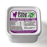 Raw Love Ostrich Meal For Cats