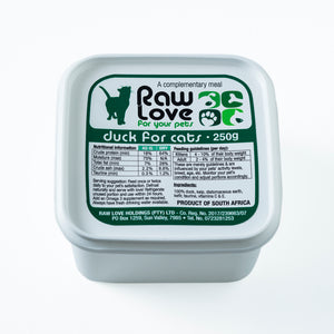 Raw Love Duck Meal For Cats