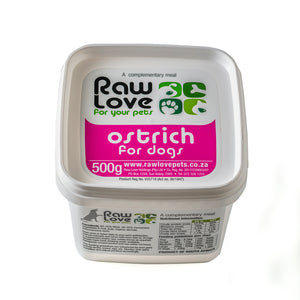 Raw Love Ostrich Meal For Dogs