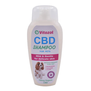 Vitozol Cannabis CBD Shampoo for Pets 150mg