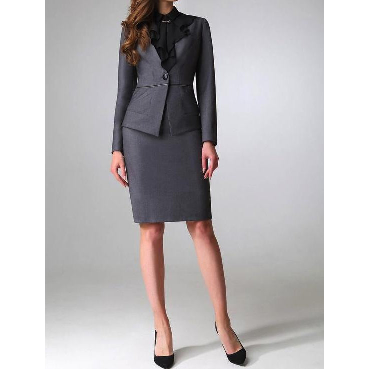 Office Skirt Suit 003