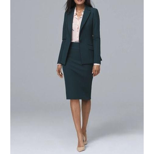 Office Skirt Suit 007
