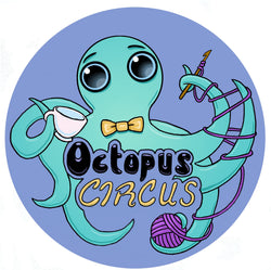 octopus circus toy crochet häkel yarn