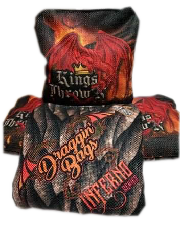 "Kings Throw'N First Edition INFERNO ""KTDB"" Draggin' Bags v1 - Kings Throw'N"