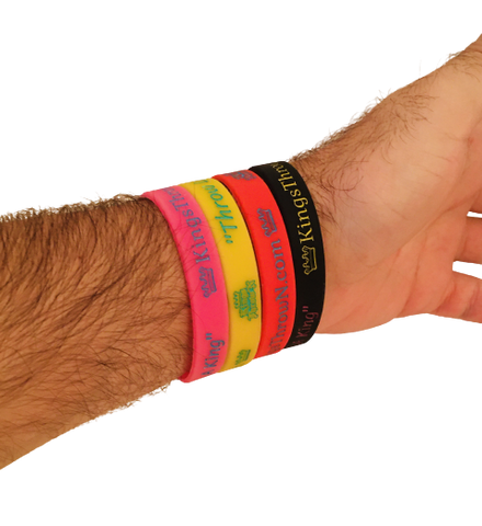 Kings Throw'N Wristbands - Kings Throw'N