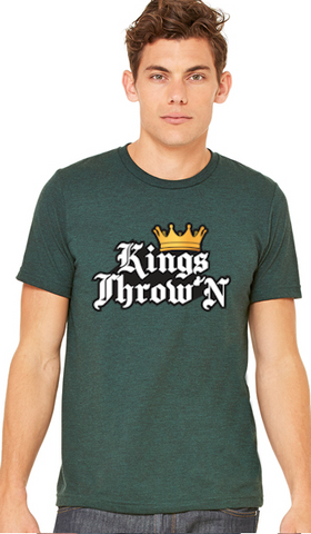 Kings Throw'N TriBlend Shirts - Kings Throw'N