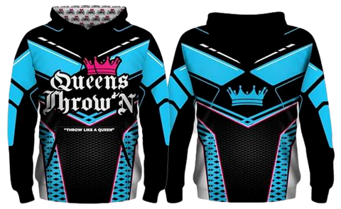 Queens Throw'N Hoodies - Kings Throw'N