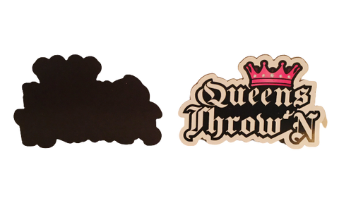 Queens Throw'N Magnet - Kings Throw'N