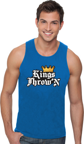 Kings Throw'N Tank Tops - Kings Throw'N
