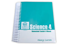 Load image into Gallery viewer, Science 4 Homeschool Teacher's Manual w/Photo Cards