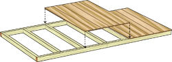 Shed Kit Side Wall construction
