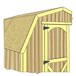 Shed Kit Doors and Trim construction
