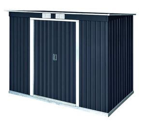 DuraMax 8x4 Pent Roof Metal Shed w/ Vents