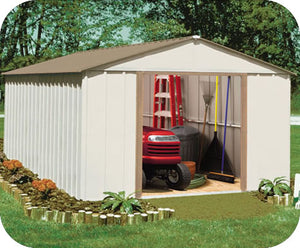 Arrow 10x14 Oakbrook Steel Storage Shed Kit