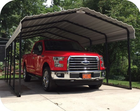 Arrow 12x20x7 Steel Auto Carport Kit