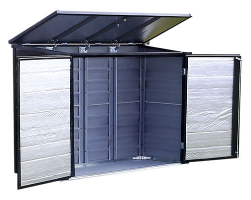 Arrow 6x3 Versa-Shed Locking Horizontal Shed Kit - Onyx